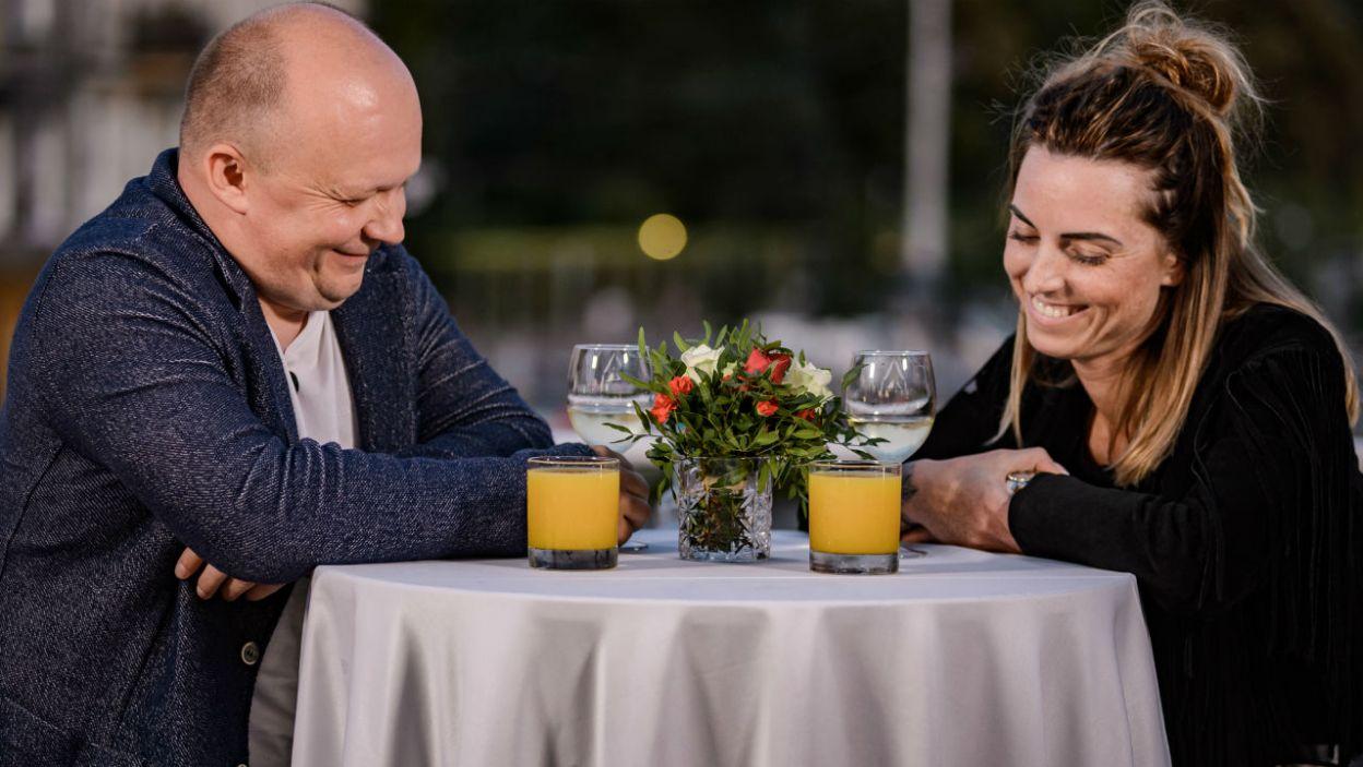 Jakub rewelacyjnie dogaduje się z Anią, ale także jej synem (fot. TVP)