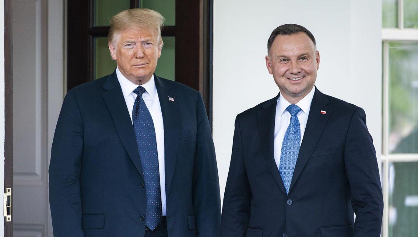 Tysiące amerykańskich żołnierzy wspiera bezpieczeństwo Polski (fot. Jim Lo Scalzo/EPA/Bloomberg via Getty Images)