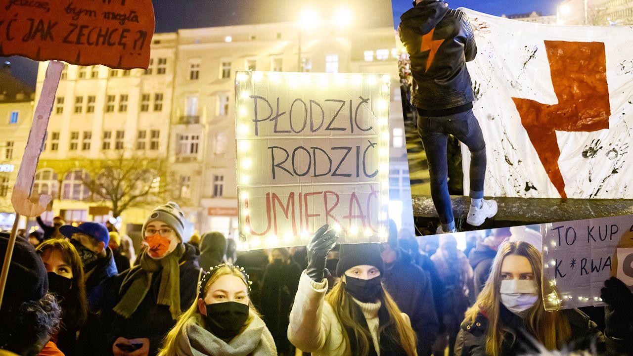 """Dziennikarz grozi krytykującemu uliczne protesty profesorowi """"daniem w mordę"""" (fot. PAP/Jakub Kaczmarczyk)"""