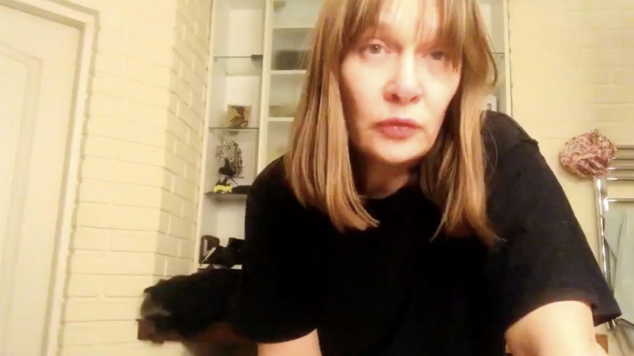 Maria Seweryn nagrała wideo, w którym tłumaczy, dlaczego skłamała ws. szczepień (fot. tt/@MariaSeweryn)
