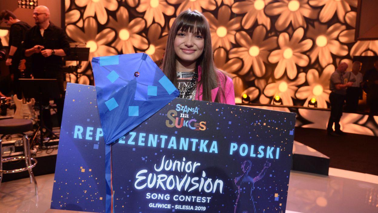 Wiktoria Gabor zaprezentuje Polskę podczas konkursu Eurowizji Junior 2019 w Gliwicach! (fot. J. Bogacz/TVP)
