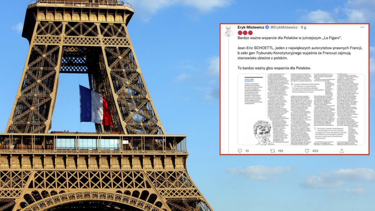 """Artykuł """"Le Figaro"""" obiega sieć. Chodzi o decyzję Trybunału Konstytucyjnego RP (fot. Mehdi Taamallah/NurPhoto via Getty Images)"""
