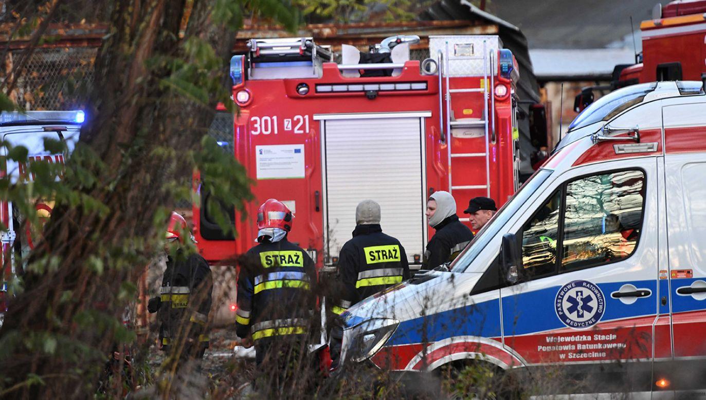 Chłopców nie udało się uratować (fot. PAP/Marcin Bielecki)