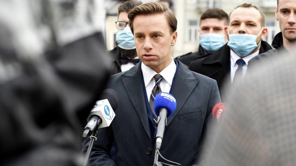 Krzysztof Bosak obawia się rozruchów na jeszcze większą skalę (fot. PAP/Piotr Polak)