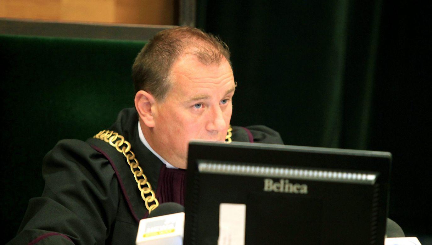 Sędzia Andrzej Sterkowicz w Sądzie Okręgowym w Warszawie (fot. PAP/Tomasz Gzell)