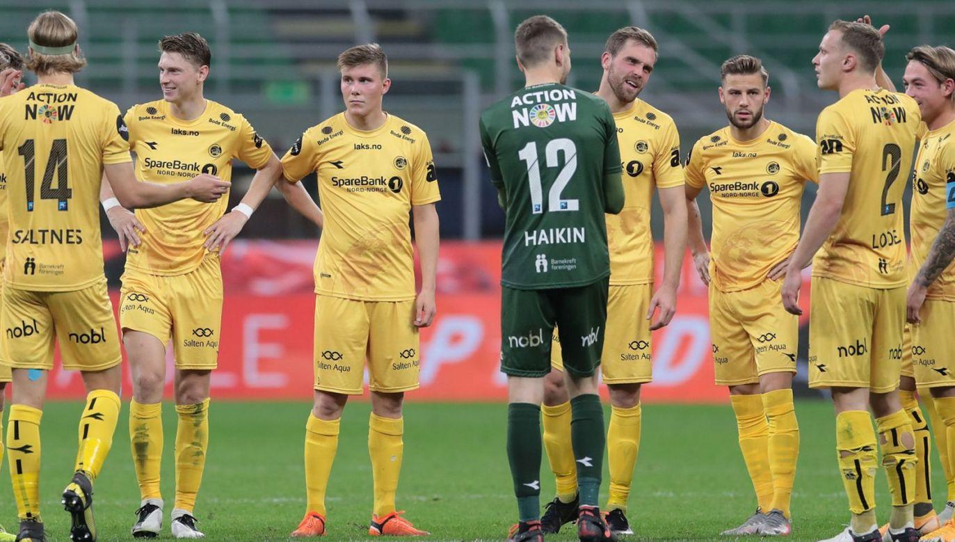 Piłkarze Bodo/Glimt (fot. Getty Images)