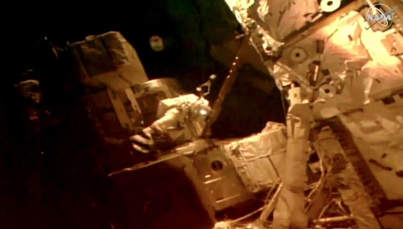 Dowódca stacji kosmicznej Chris Cassidy oraz Robert Behnken udali się na czwarty spacer kosmiczny w ciągu niecałego miesiąca (fot. NASA)