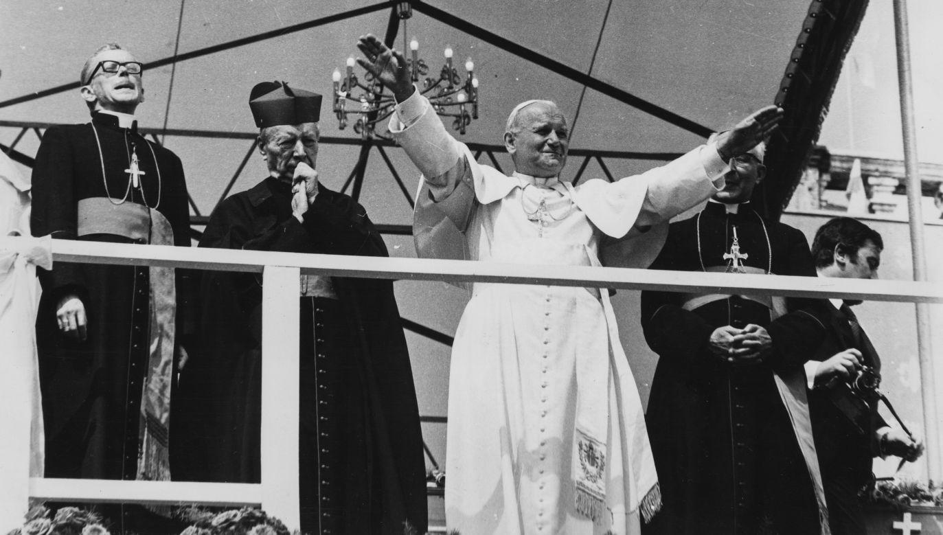 Jan Paweł II w czerwcu 1979 na Jasnej Górze. Fot. Keystone/Hulton Archive/Getty Images