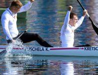 Niemcy zostali mistrzami olimpijskimi w rywalizacji C2 na 1000 metrów (fot. Getty Images)