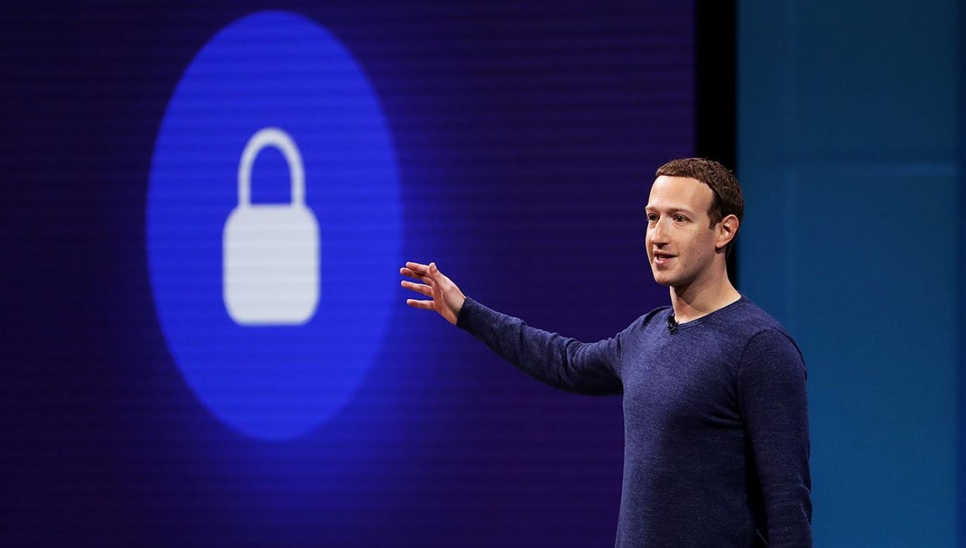 Mark Zuckerberg (fot.  Justin Sullivan/Getty Images)