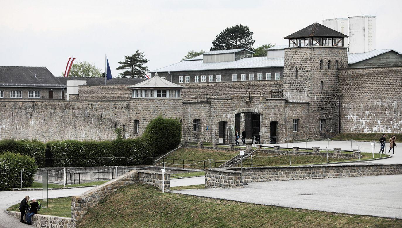 KL Mauthausen - były nazistowski obóz koncentracyjny w pobliżu miejscowości Mauthausen (fot. PAP/Leszek Szymański)
