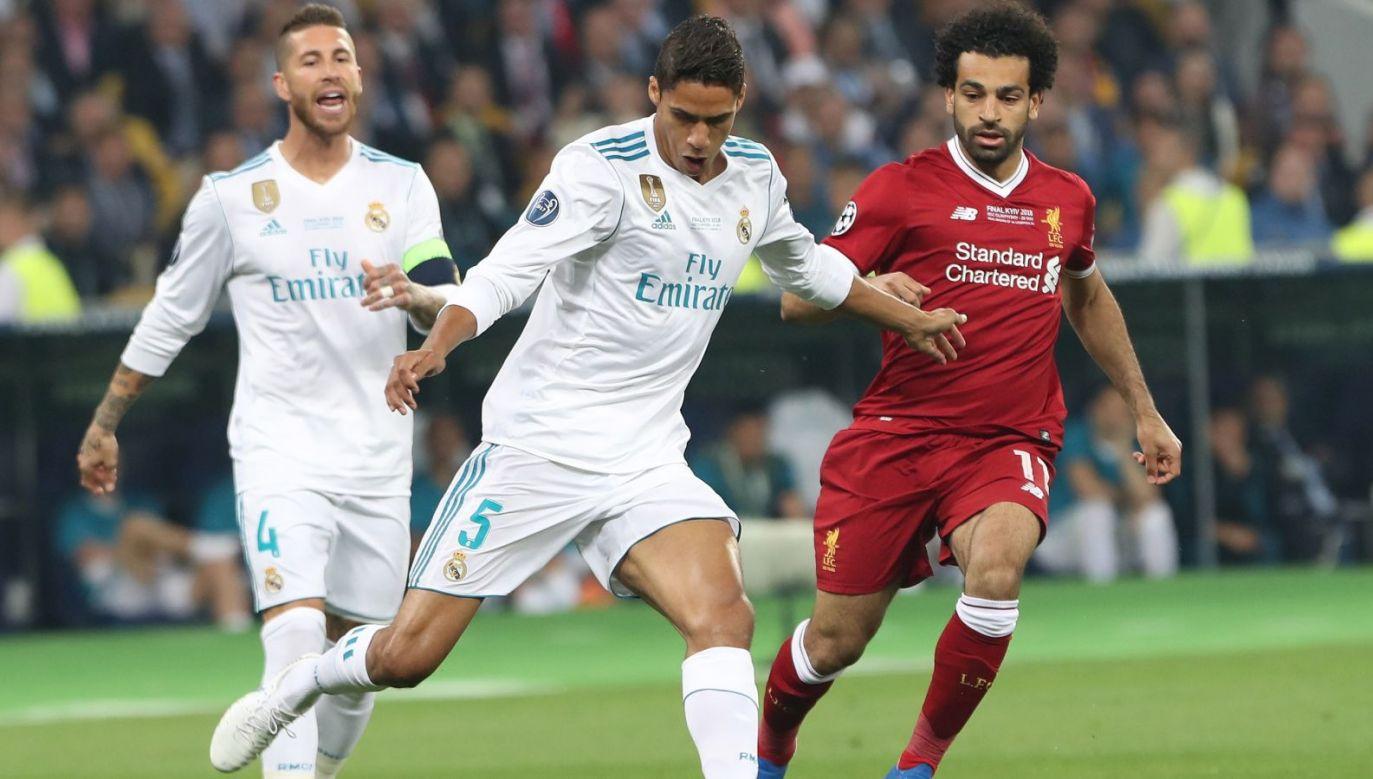 Spotkanie Realu Madryt z Liverpoolem w finale Ligi Mistrzów w 2018 roku (fot. Getty Images)