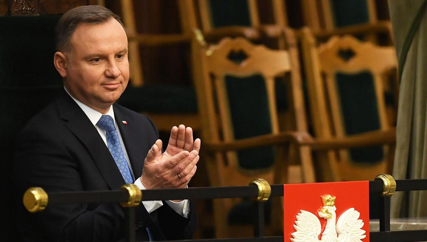 Zgromadzenie Narodowe m odbyć się w czwartek o godz. 10 (fot. PAP/Radek Pietruszka)