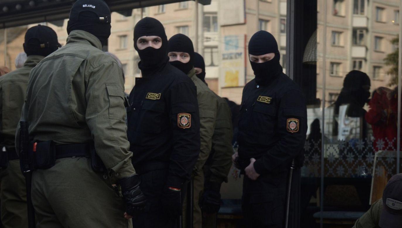 Milicja dysponuje nagraniem ze zdarzenia (fot. PAP/EPA/STRINGER)
