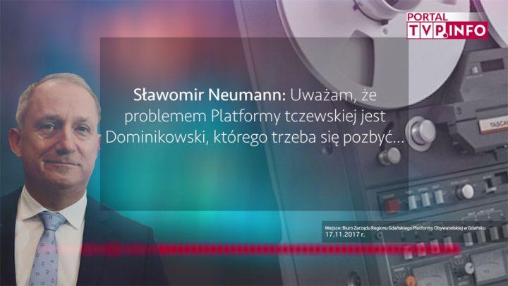 Nikt Nas Nie Szanuje Posłuchaj Nowych Taśm Neumanna