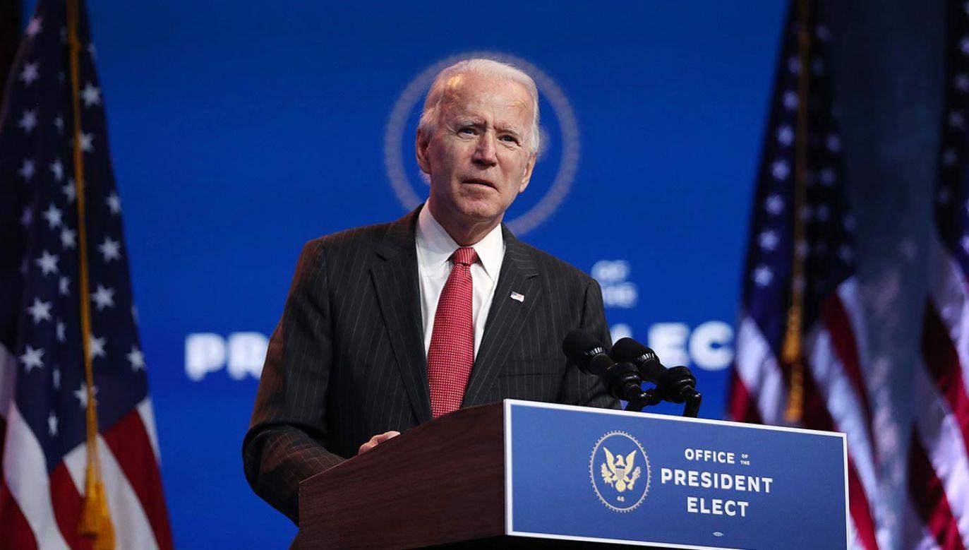Chodzi o osoby mianowane na urzędy w administracji Bidena (fot. Joe Raedle/Getty Images)