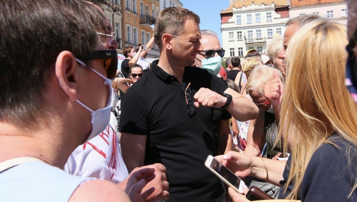 Sławomir Nitras jest przez polityków PiS najczęściej typowany jako potencjalny szef Kancelarii Prezydenta Trzaskowskiego (fot. PAP/Tomasz Wojtasik)