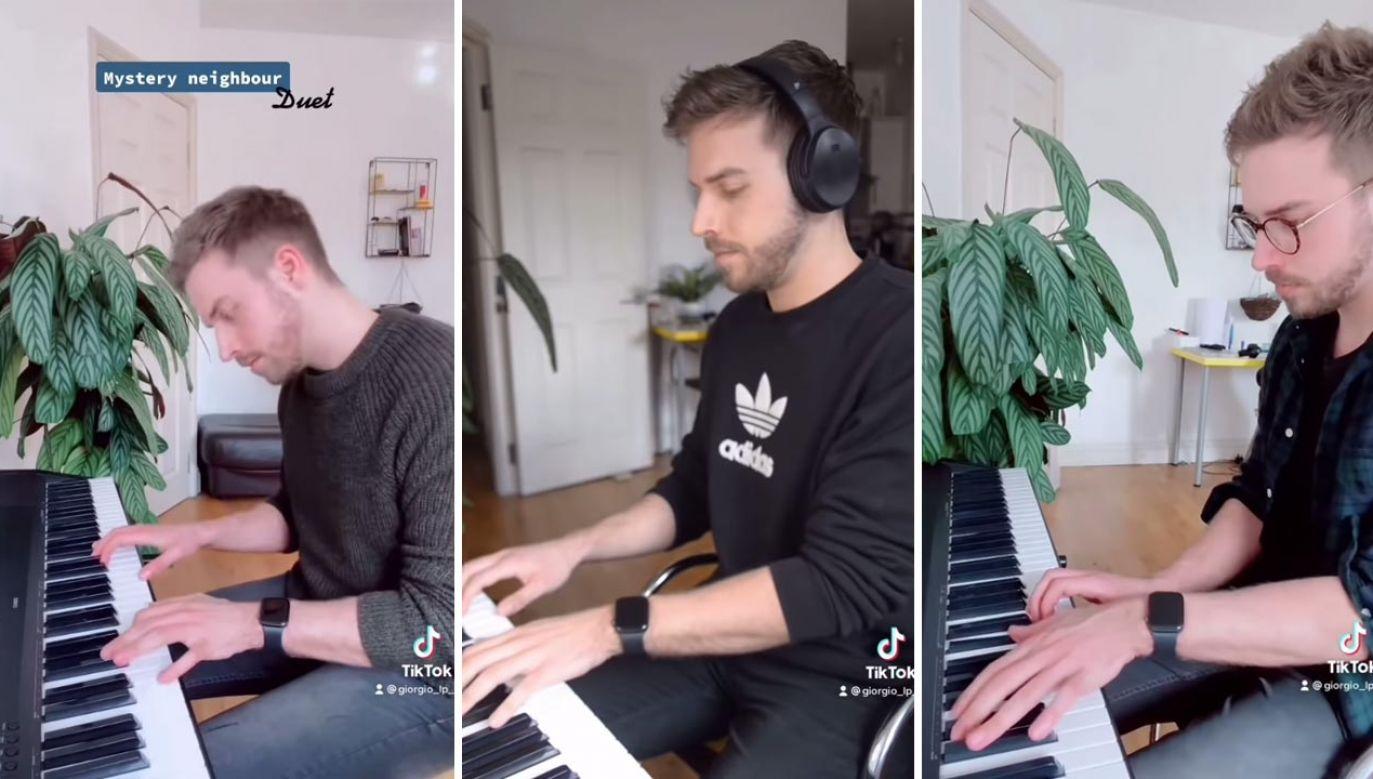 Ich wspólne muzykowanie stało się hitem na TikToku (fot. YouTube/Giorgio Lo Porto)