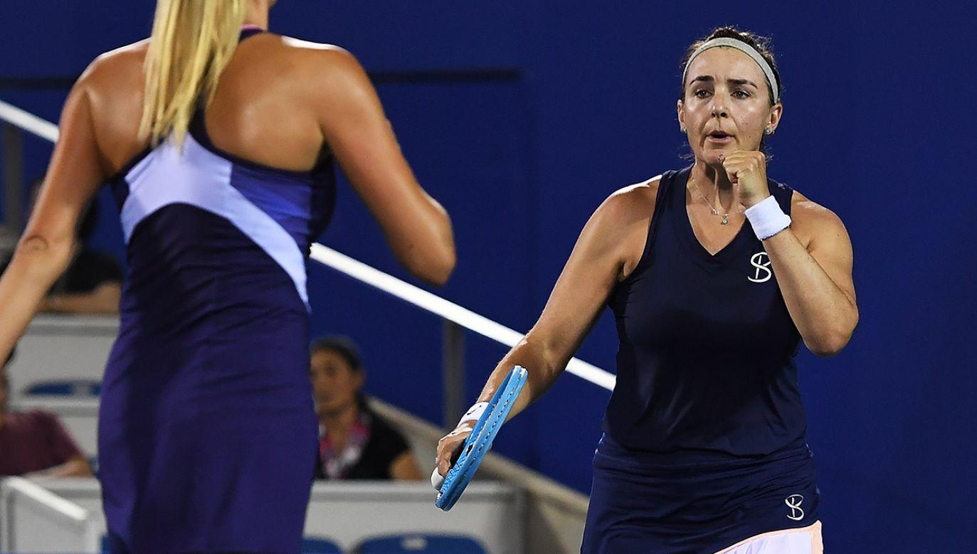 Największym sukcesem Abigail Spears jest zwycięstwo w mikście w 2017 r. w wielkoszlemowym turnieju Australian Open (fot. Zhe Ji/Getty Images)