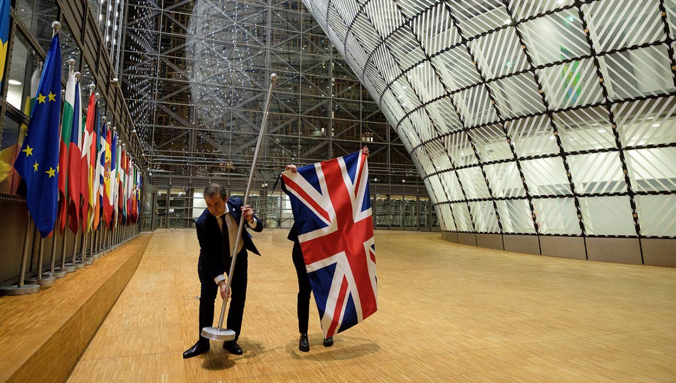 """""""Wśród krajów, które najpóźniej weszły do UE, rozwód ze Zjednoczonym Królestwem odczuto bardziej niż w innych państwach Unii"""" – czytamy w artykule (fot. Thierry Monasse/Getty Images)"""