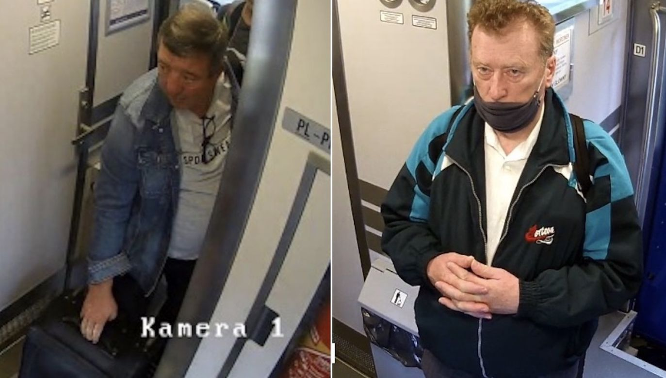 Wizerunek obu mężczyzn zarejestrowały kamery monitoringu (fot. KMP Lublin)