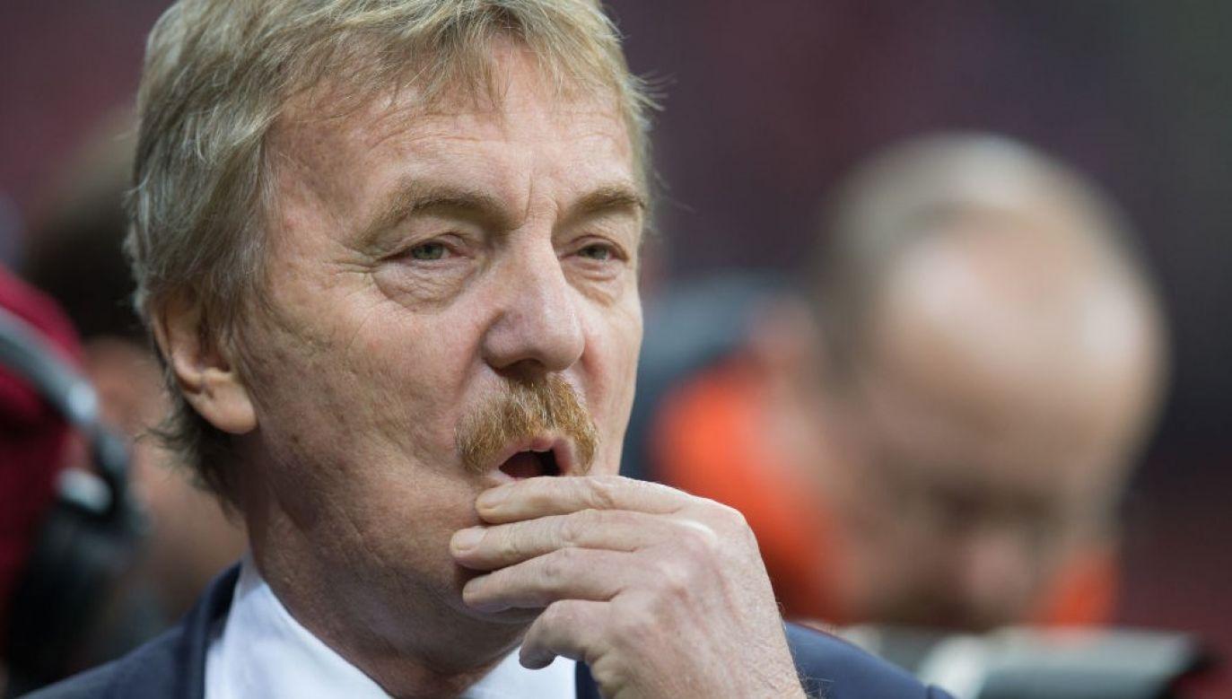 Zbigniew Boniek podał, że jest zakażony koronawirusem (fot. Foto Olimpik/NurPhoto via Getty Images)
