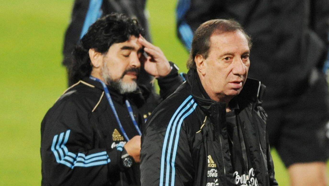 Trenera łączyła z piłkarzem wyjątkowa więź (fot. El Grafico/Getty Images)