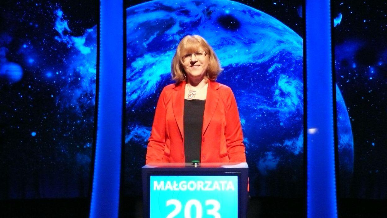 Pani Małgorzata Pieńkowska zwyciężyła 14 odcinek 110 edycji