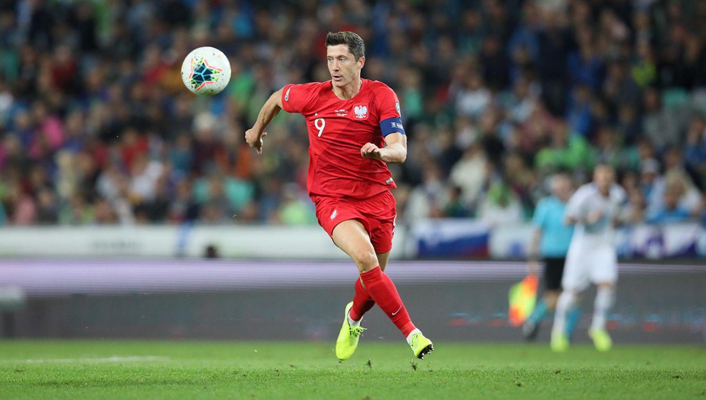 Robert Lewandowski, podobnie jak cała drużyna, zagrał poniżej oczekiwań (fot. PAP/Leszek Szymański)