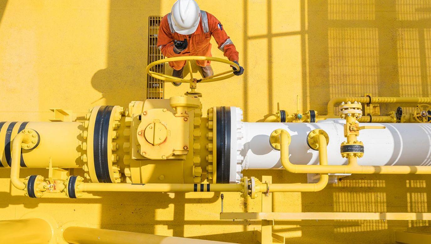 Ceny gazu w Europie spadają w czasie czwartkowego handlu o 25 proc. (fot. Shutterstock)