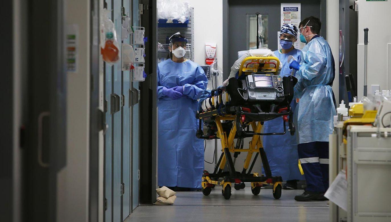 Gdzie potwierdzono nowe zakażenia? (fot. Lisa Maree Williams/Getty Images)
