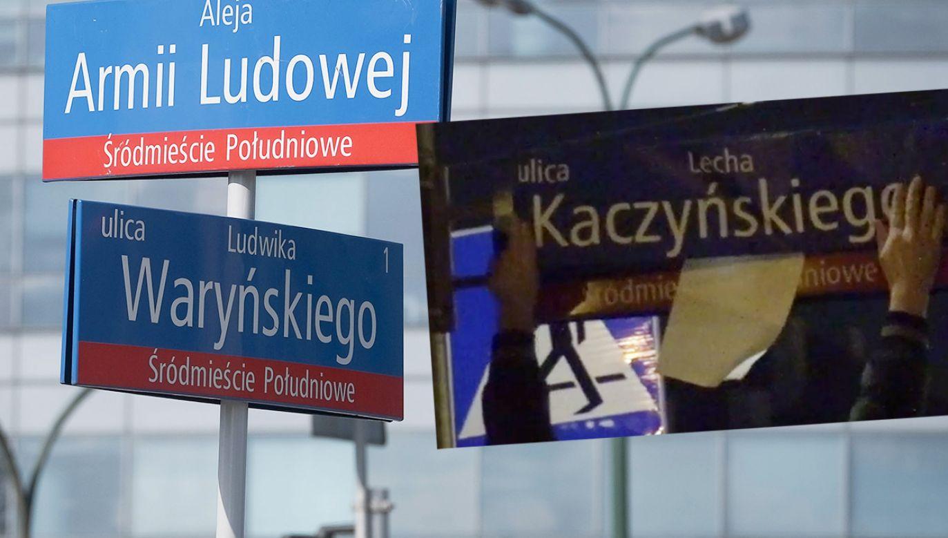 Akcja obywatelska warszawiaków (fot. mat. pras.; PAP/Mateusz Marek)