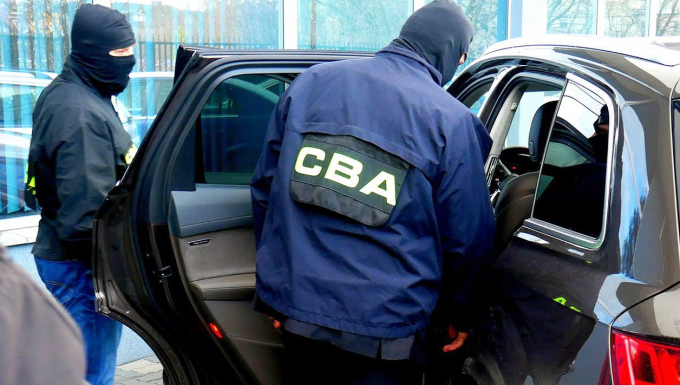 Zatrzymany biznesmen ma związek z usiłowaniem wyłudzenia wielomilionowego odszkodowania od miasta Warszawy – wynika z ustaleń Biura (fot. CBA)