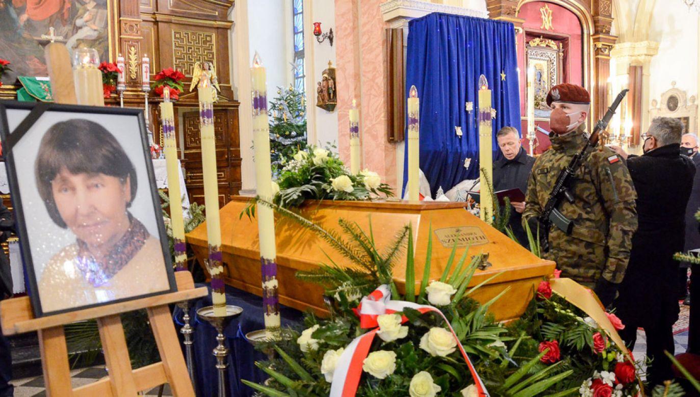 Uroczystości pogrzebowe w Krakowie (fot. Twitter/@prezydent.pl)