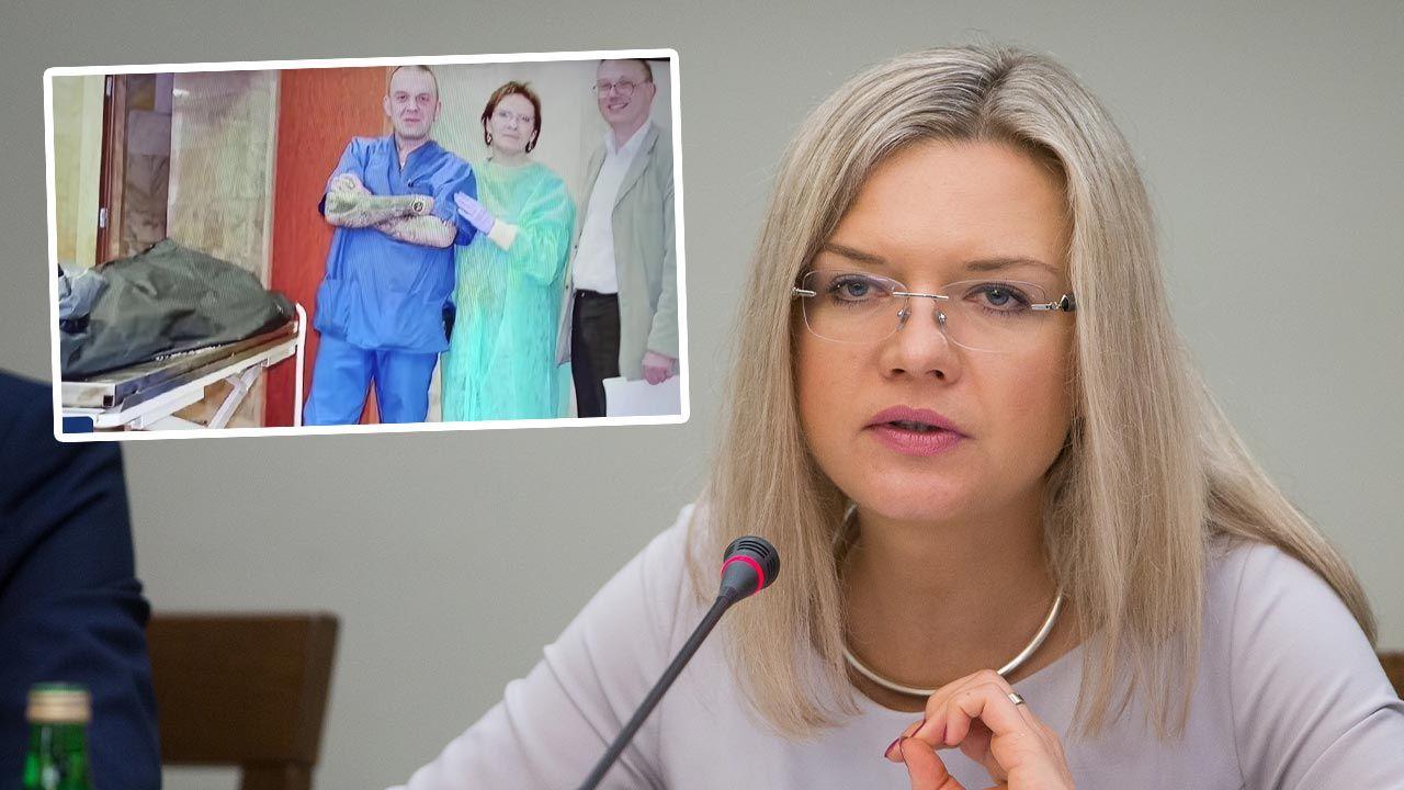 Kopacz na zdjęciach z prosektorium? Wassermann komentuje (fot. Forum/Mateusz Wlodarczyk)