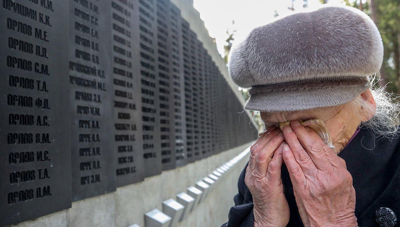 W tym roku przypada 80. rocznica zbrodni katyńskiej (fot. arch. PAP/TASS/Natalia Fedosenko)