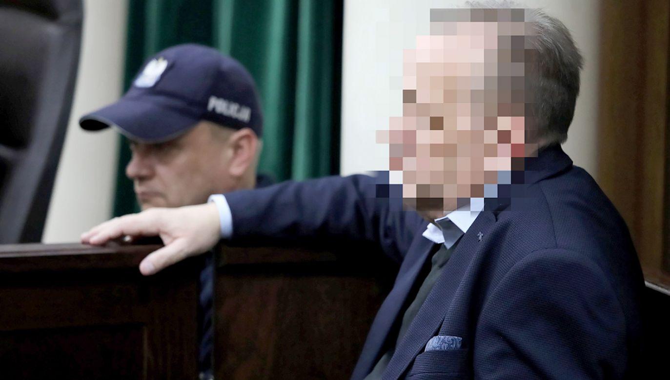 Marek M. jest podejrzany m.in. o przywłaszczenie praw majątkowych do dwóch nieruchomości i oszustwo o łącznej wartości prawie 13 mln złotych (fot. arch.PAP/Tomasz Gzell)