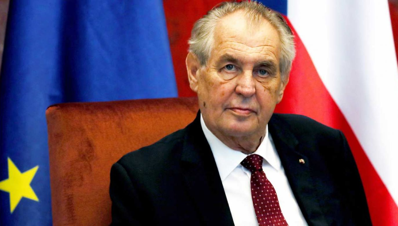 W niedzielę prezydent Milosz Zeman został przewieziony na oddział intensywnej terapii Centralnego Szpitala Wojskowego w Pradze (fot. PAP/EPA/KOCA SULEJMANOVIC)