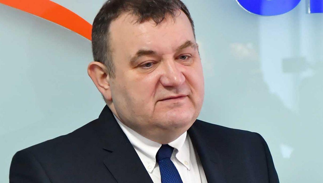 Były sekretarz PO i wiceminister środowiska w rządach Tuska oraz Kopacz jest oskarżony o korupcję (fot. arch. PAP/Marcin Bielecki)