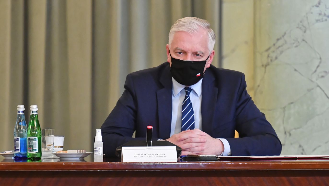 Deputy PM and development, labour and technology minister Jarosław Gowin. Photo: PAP/Piotr Nowak