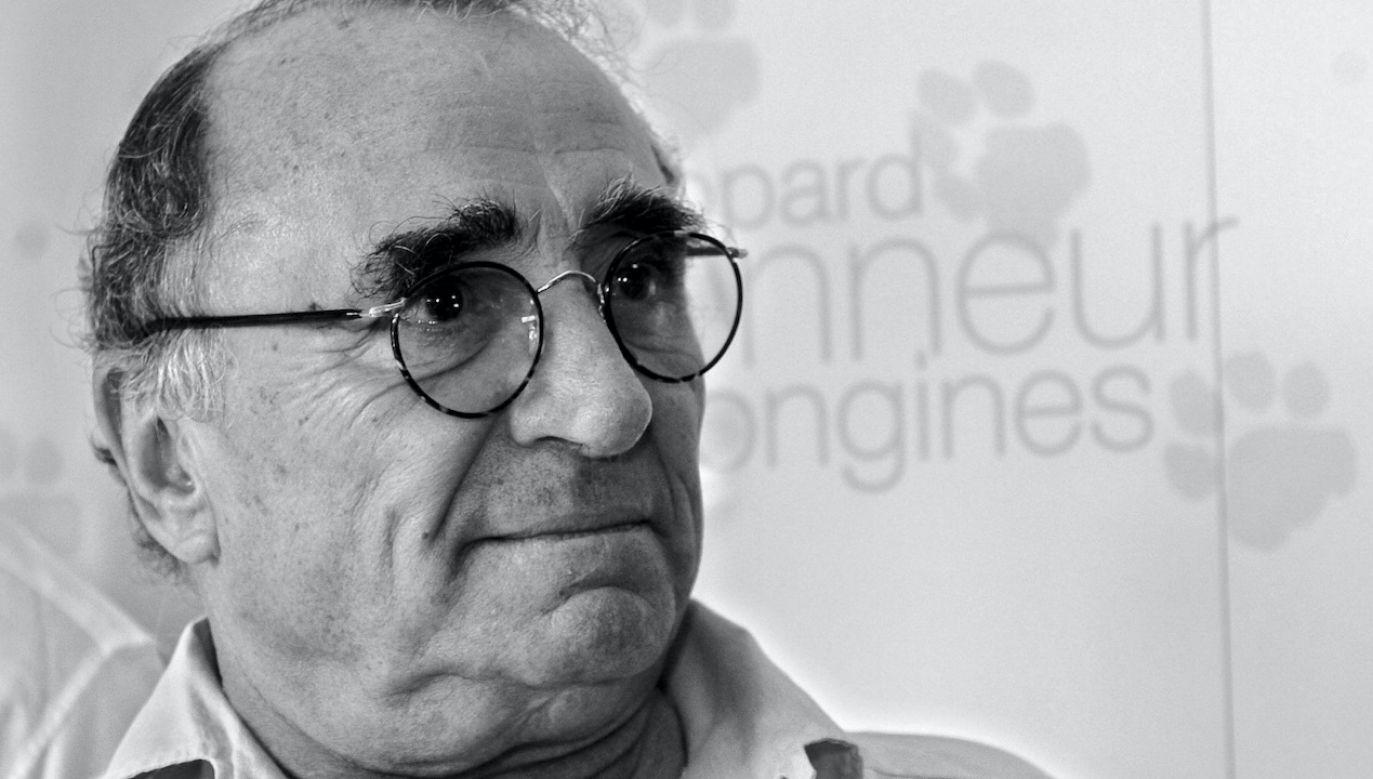 Zmarł aktor filmowy i teatralny Claude Brasseur (fot. PAP/EPA/M.TREZZINI)