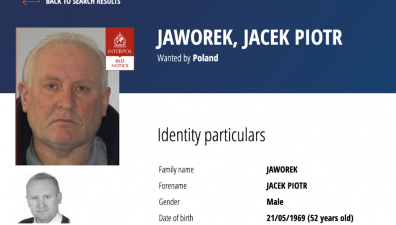 Jacek Jaworek jest podejrzewany o zabicie brata, bratowej i bratanka (fot. Policja)