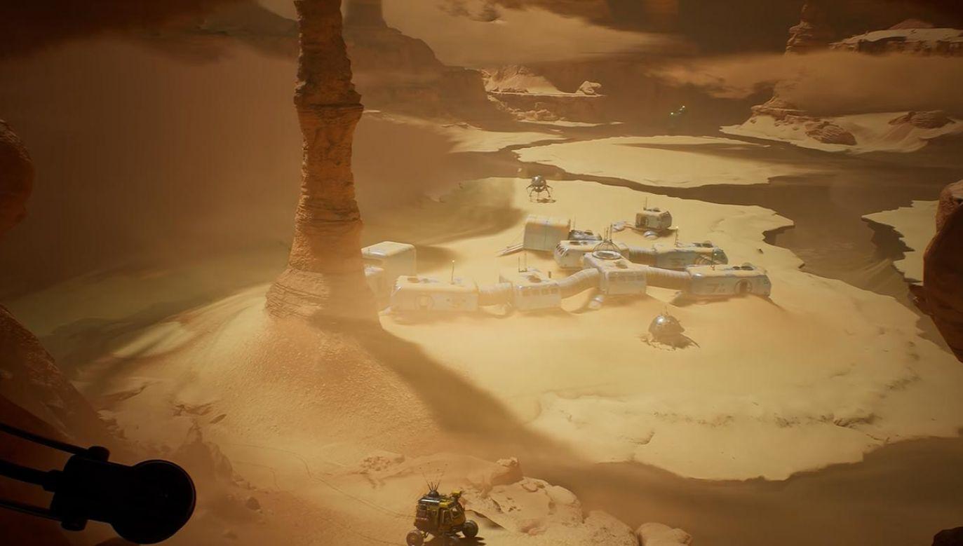 """""""Niezwyciężony"""" ma trafić na komputery i konsole w przyszłym roku (fot. YouTube/Starward Industries)"""