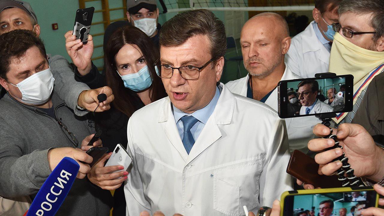 Aleksandr Murachowski (fot. PAP/EPA/MAXIM KARMAYEV)
