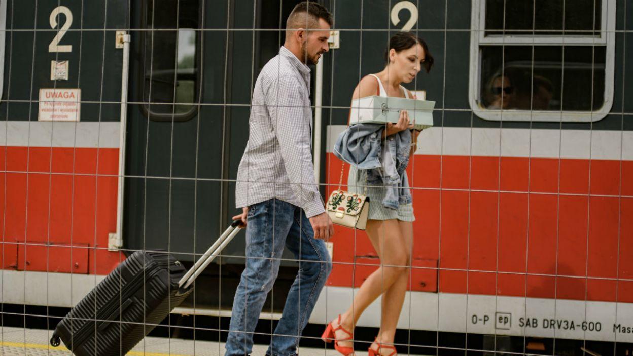 – Próbowałam wysiąść i nie połamać sobie nóg – Agata wyznała, o czym myślała wysiadając z pociągu (fot. TVP)