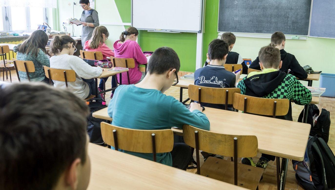 O potwierdzeniu odwołania poinformowała rzeczniczka resortu edukacji (fot. arch.PAP/Tytus Żmijewski, zdjęcie ilustracyjne)