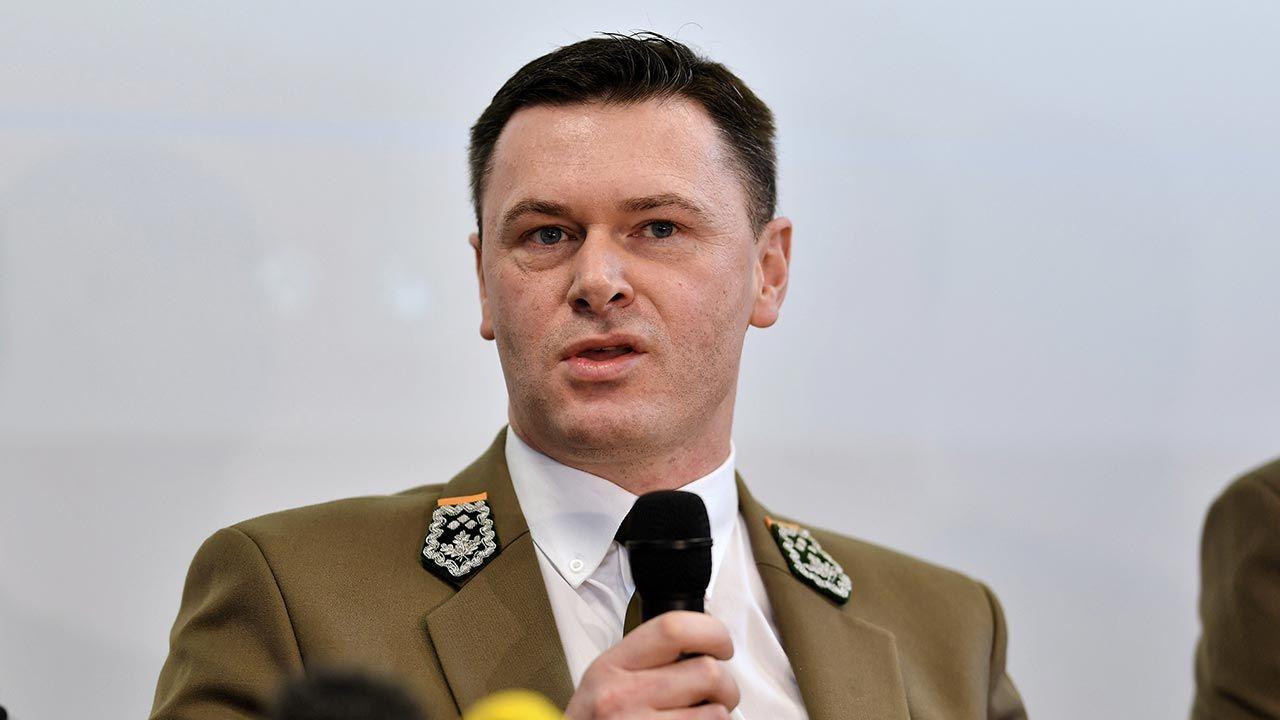 Bartłomiej Obajtek, dyrektor Regionalnej Dyrekcji Lasów Państwowych w Gdańsku (fot. PAP/Marcin Gadomski)