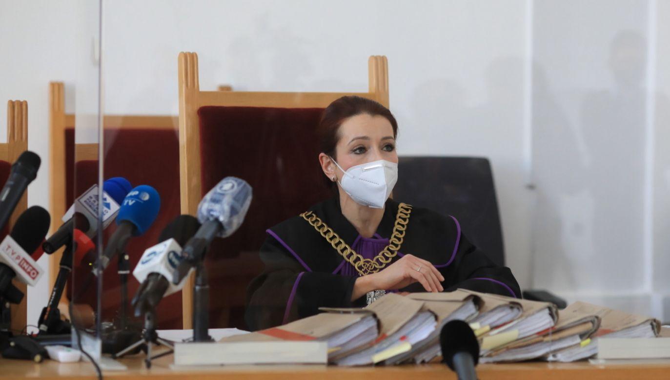 Sędzia Agnieszka Warchoł (fot. PAP/Szymon Łabiński)