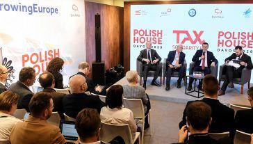 Szef polskiego rządu w Davos (fot. arch. PAP/Radek Pietruszka)