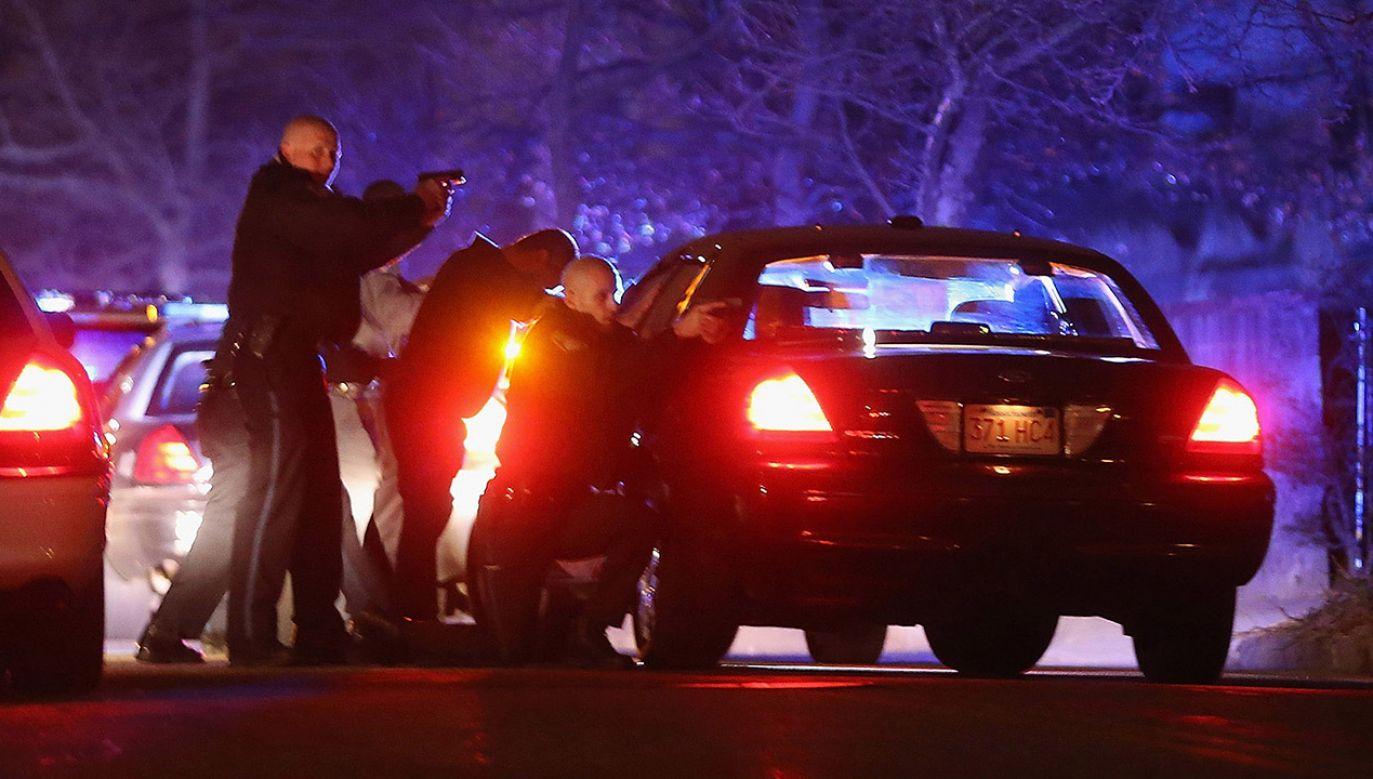 Trwa pościg za sprawcą (fot. Mario Tama/Getty Images, zdjęcie ilustracyjne)